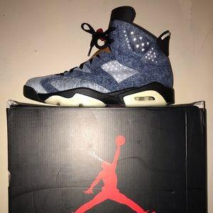Jordan Shoes - Jordan 6 retro denim